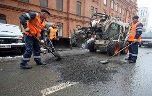 В этом году петербургские дороги ремонтировали по-новому