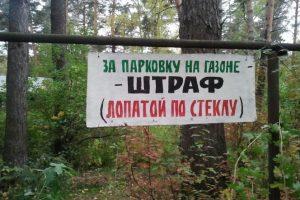 В Петербурге пытаются сохранить запрет парковки на газонах